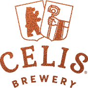 This is the restaurant logo for Celis Brewery