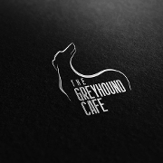 This is the restaurant logo for The Greyhound Cafe