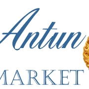 This is the restaurant logo for Antun's Market
