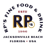 This is the restaurant logo for RP's Fine Food & Drink