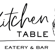 This is the restaurant logo for Kitchen Table