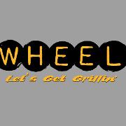 This is the restaurant logo for Wheel Restaurant