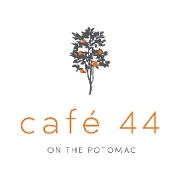 This is the restaurant logo for Cafe 44