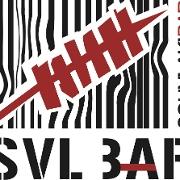 This is the restaurant logo for SVL SOUVLAKI BAR