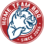 Restaurant logo for Home Team BBQ