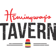 This is the restaurant logo for Hemingway's Tavern