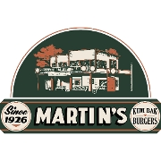 This is the restaurant logo for Dirty Martin's Place