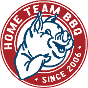 This is the restaurant logo for Home Team BBQ