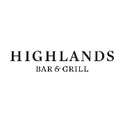 This is the restaurant logo for Highlands Bar & Grill