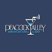 This is the restaurant logo for Peacock Alley