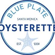 This is the restaurant logo for Blue Plate Oysterette