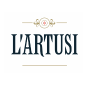 This is the restaurant logo for L'Artusi