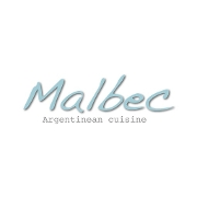 This is the restaurant logo for Malbec Market - Eagle Rock