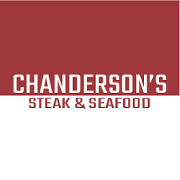 This is the restaurant logo for Chanderson's Steak & Seafood