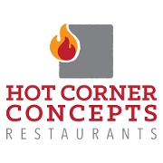 This is the restaurant logo for Hot Corner Concepts Gift Cards