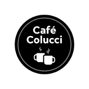 This is the restaurant logo for Cafe Colucci |