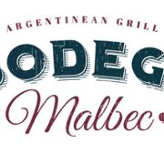 This is the restaurant logo for Bodega Malbec