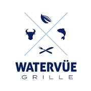 This is the restaurant logo for Watervue Grill