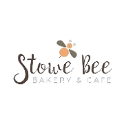 This is the restaurant logo for Stowe Bee Bakery & Cafe