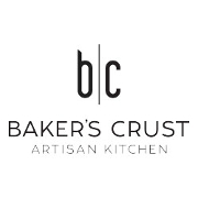 This is the restaurant logo for Baker's Crust