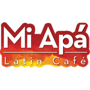 This is the restaurant logo for Mi Apa Latin Cafe Gainesville