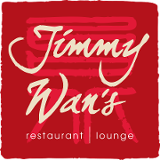 This is the restaurant logo for Jimmy Wan's  |  Fox Chapel