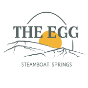 This is the restaurant logo for The Egg - Steamboat Springs
