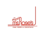 This is the restaurant logo for Ms. Rose's