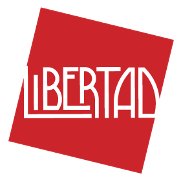 This is the restaurant logo for Libertad