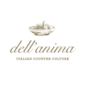 This is the restaurant logo for dell'anima
