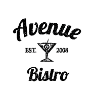 This is the restaurant logo for Avenue Bistro