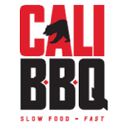 This is the restaurant logo for Cali Comfort BBQ