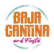 This is the restaurant logo for Baja Cantina & Fiesta