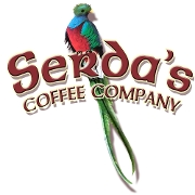 This is the restaurant logo for Serda's Coffee Company