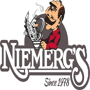 This is the restaurant logo for Niemerg's Steak House