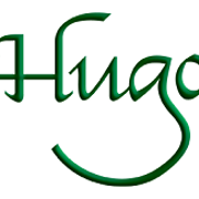 This is the restaurant logo for Hugo's
