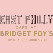 This is the restaurant logo for EAST PHILLY CAFE POP UP @ BRIDGET FOY'S