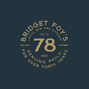 This is the restaurant logo for BRIDGET FOY'S