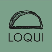 This is the restaurant logo for Loqui