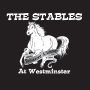 This is the restaurant logo for The Stables at Westminster
