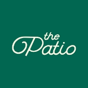 This is the restaurant logo for The Patio Restaurant & Lounge