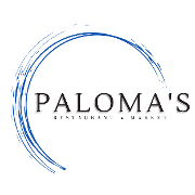 This is the restaurant logo for Paloma's