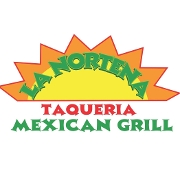 This is the restaurant logo for La Nortena