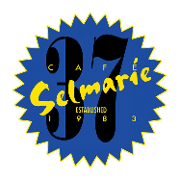 This is the restaurant logo for Cafe Selmarie