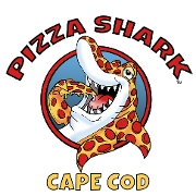 This is the restaurant logo for Pizza Shark
