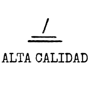 This is the restaurant logo for Alta Calidad