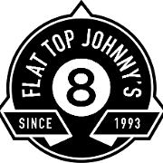 This is the restaurant logo for Flat Top Johnny's