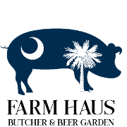 This is the restaurant logo for Farm Haus