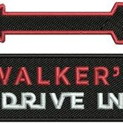 This is the restaurant logo for Walkers Drive In