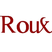 This is the restaurant logo for Roux